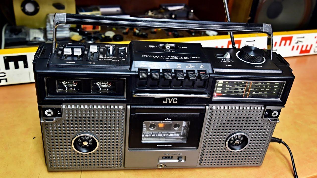 Jvc Rc-717l Radio Tape Recorder