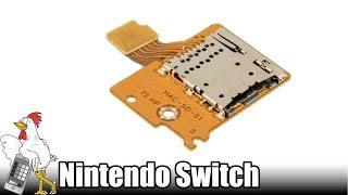 Guía del Nintendo Switch: Cambiar lector de tarjeta microSD