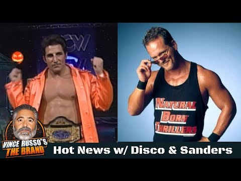 Hot News Podcast #1: Hosts Disco Inferno & Mike Sanders, Guest Double J, Phone Calls & More