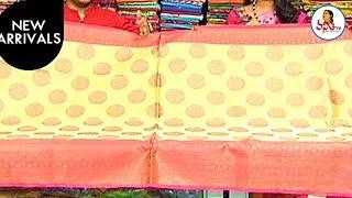 Latest Trend Tissue Fancy With Silver Zari Border Saree | New Arrivals | Manoharam | Vanitha TV