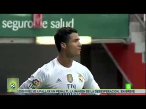 Cristiano Ronaldo's frustration with Gareth Bale & Madrid teammates for not passing v Gijon