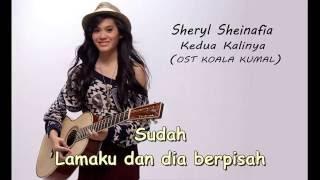 Sheryl Sheinafia-Kedua Kalinya (lyric)
