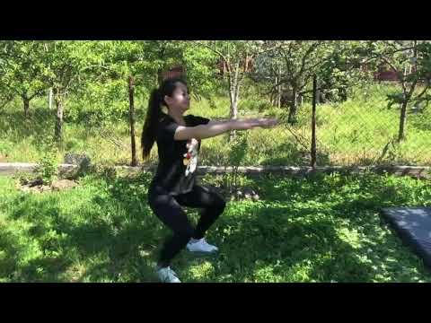 """Видеоурок  физическая подготовка """"Упражнения на все группы мышц"""""""