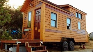 Open Design Tiny House Built With Natural Materials