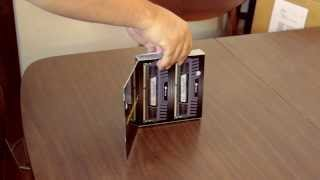Unboxing and Showing 32GB of Corsair Vengeance DDR3 Memory. 4x8GB Modules of RAM.