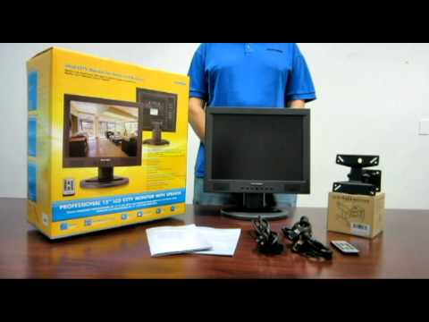 SM-1580 Securityman Professional 15-Inch LCD CCTV Monitor with Speaker