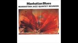 """1990 - album """"Manhattan Blues"""" - Manhattan Jazz Quintet Lew SOLOFF ..."""