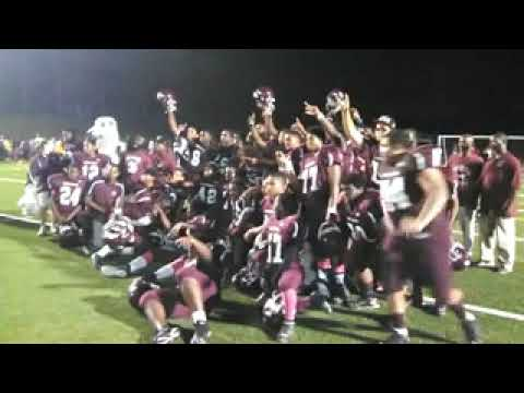 Pleasantville Celebrates Its Win Over Lower Cape May
