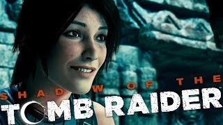 Shadow of the Tomb Raider FR - Introduction - Tomb Raider 2018 (gameplay Découverte)