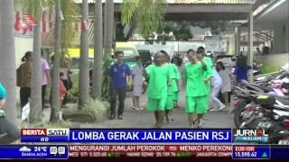Lomba Gerak Jalan Pasien RSJ di Kota Manado
