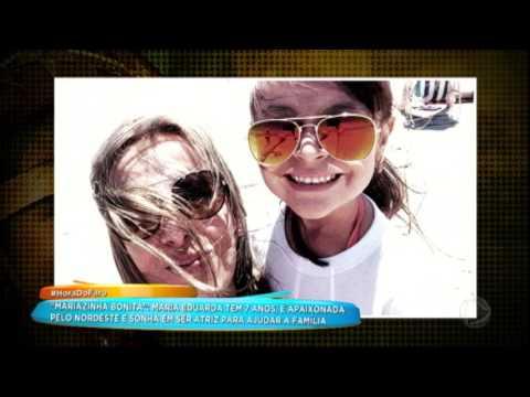 Conheça A História De Mariazinha Bonita, A Menina Que Sonha Em Ser Atriz Para Ajudar Família