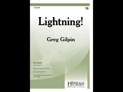 Lightning! (TB) - Greg Gilpin