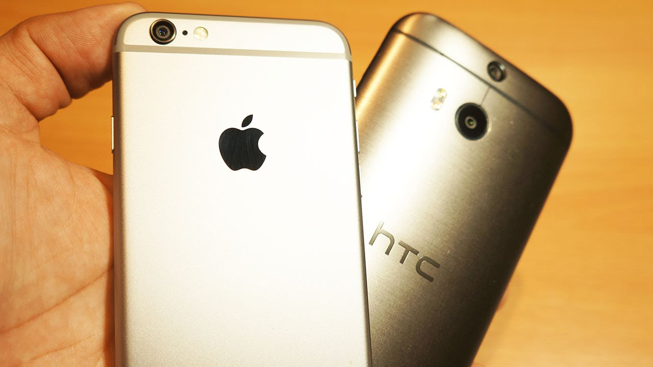 htc one m8 vs iphone 6 iphone 6 vs htc one m8 yes i switched back pocketnow 6974