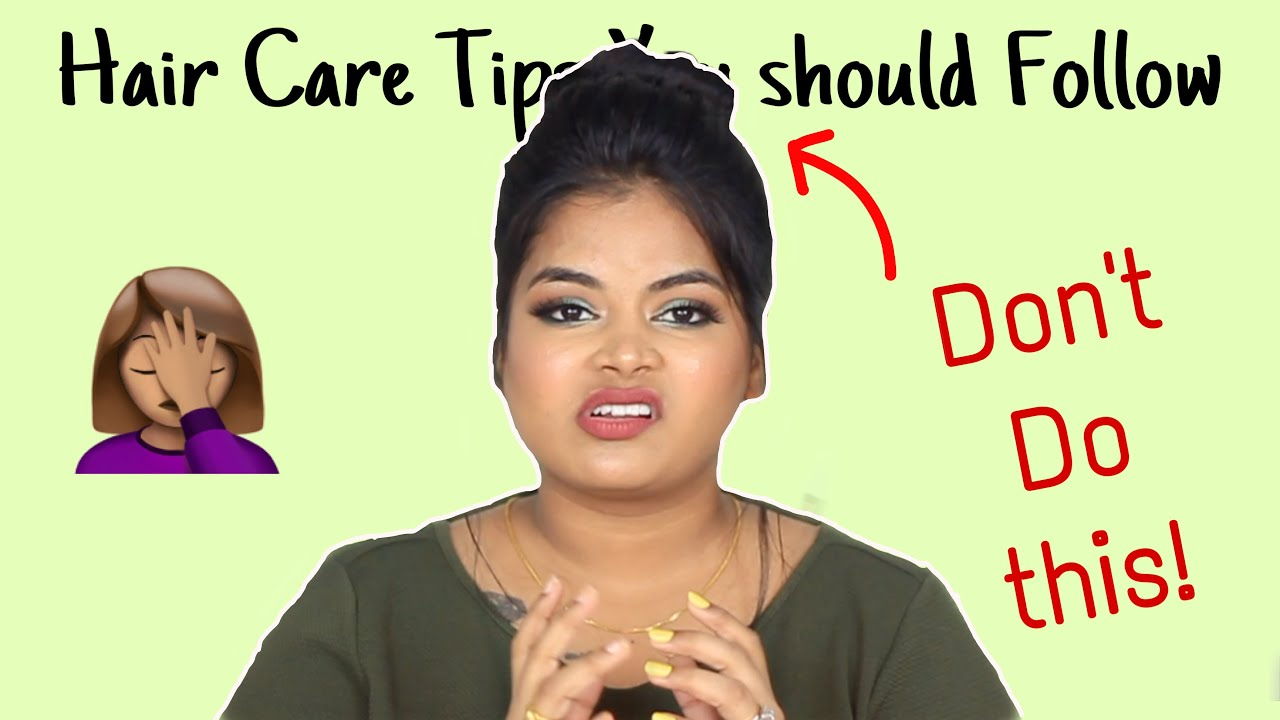 Hair care tips for all gender   Don't be like me 🤦🏽♀️