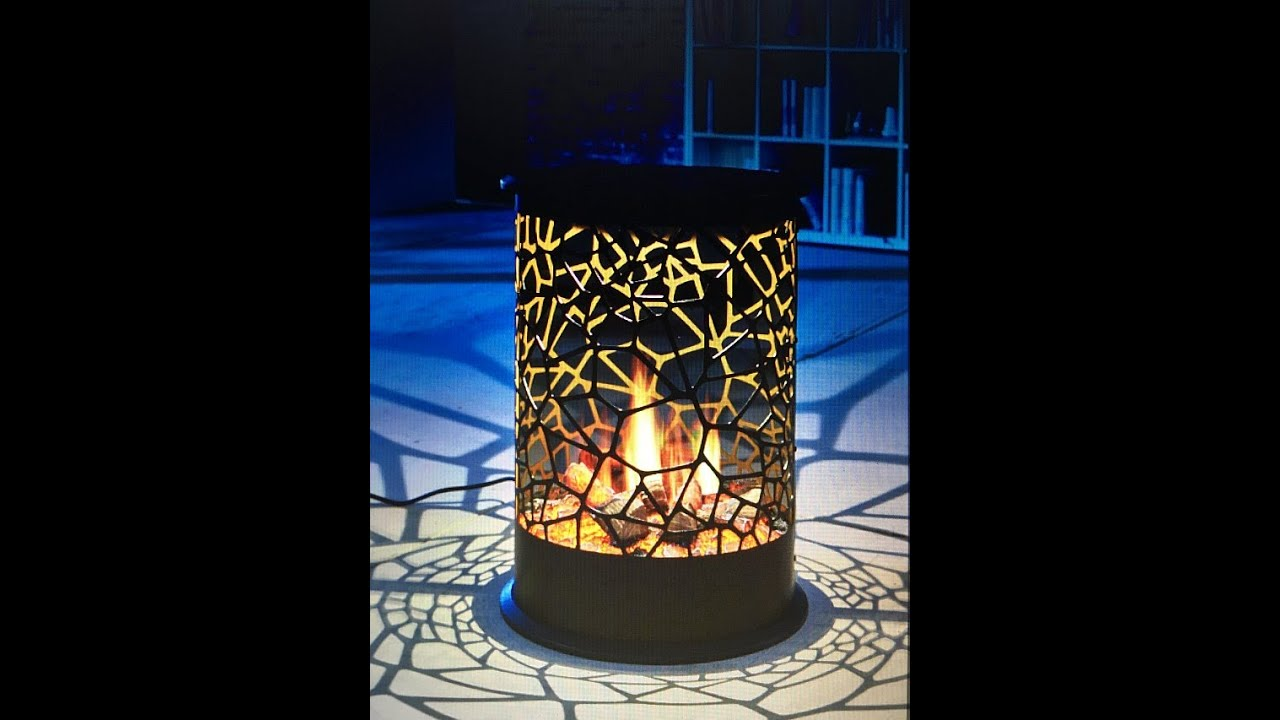 effektfeuer opti virtual 360 elektrokamin vulcano one youtube. Black Bedroom Furniture Sets. Home Design Ideas