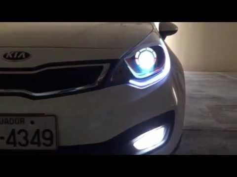 FAROS KIA RIO R GOOD - YouTube