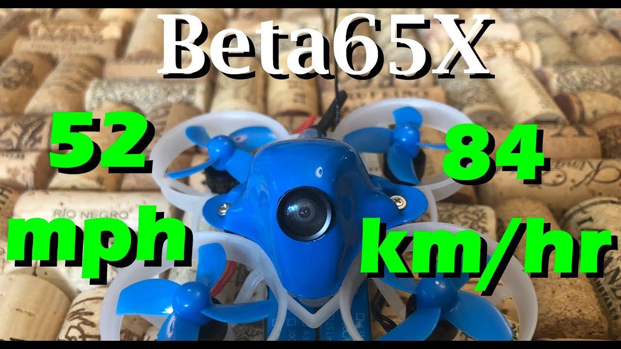 Beta65X Whoop Quadcopter (2S) – BETAFPV Hobby