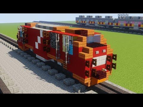 Gambar Kereta Api Minecraft Minecraft Indonesian Cc 206 203 Ge Locomotive Train Tutorial Youtube