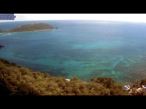 St. John Rendezvous Bay, November 2016 Time Lapse