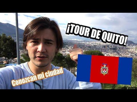 ¡CONOZCAN MI CIUDAD! ¡TOUR DE QUITO - ECUADOR!