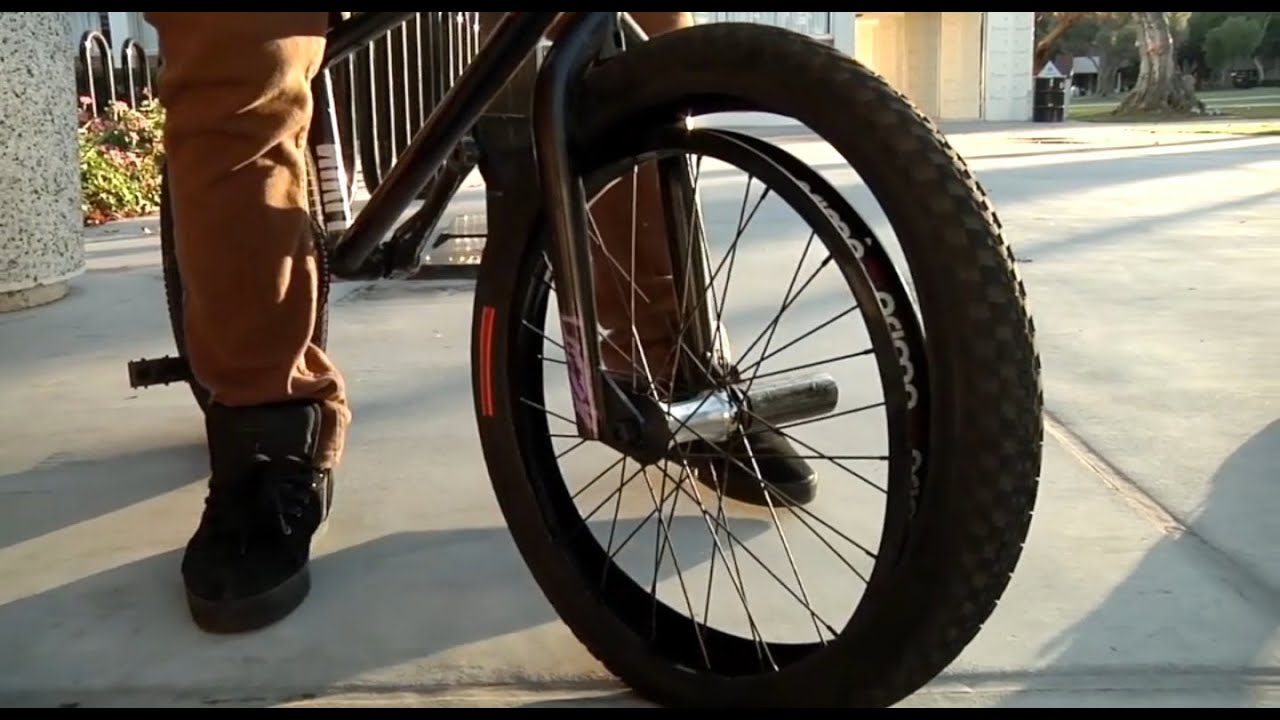 Bmx How To Get Home On A Flat Tire Youtube
