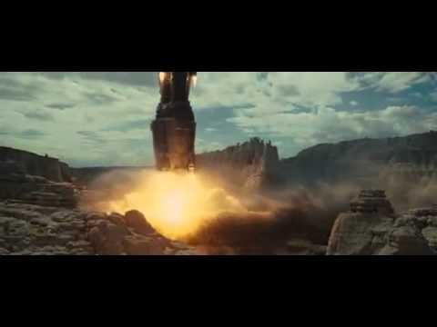 cowboys vs aliens spaceship - YouTube  Cowboys And Aliens Alien Ship