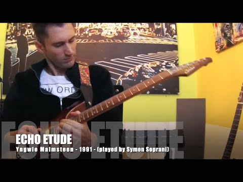 ECHO ETUDE cover Y. Malmsteen - Performance