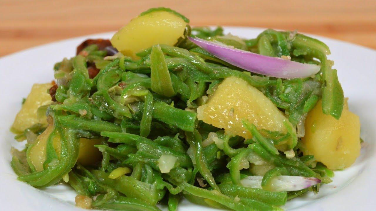 [Mauritian Cuisine] Sauteed Green Beans with Potato (Vegan) | Haricots Verts Sautés