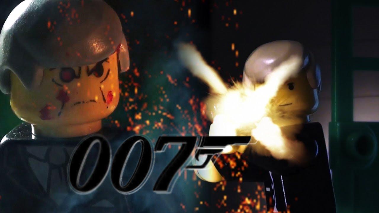 lego james bond 007 infiltration mission car chase shoot. Black Bedroom Furniture Sets. Home Design Ideas
