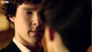 Repeat youtube video The Iceman, The Virgin and The Dominatrix - Sherlock Series 2 - BBC