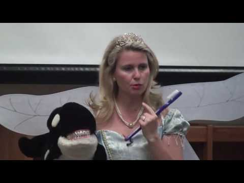 Tooth Fairy visits elementary school in McKinney TX