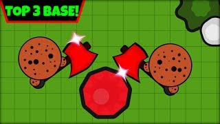 ZOMBS.IO TOP 3 BASES | BEST BASE EVER! | ZOMBS.IO AFK BASE (zombs.io update)