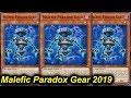 【YGOPRO】MALEFIC PARADOX GEAR DECK 2019