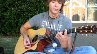 matt james doing a cover for the song hearts burst into fire by bullet for my valentine