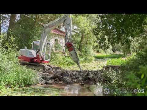 Custodia del territorio fluvial: Timelapse demolición de azud en el río Camesa (Cantabria)