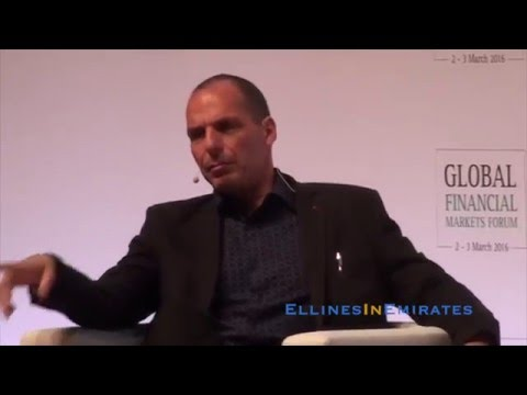 Yanis Varoufakis : Global Financial Markets Forum \\  Abu Dhabi