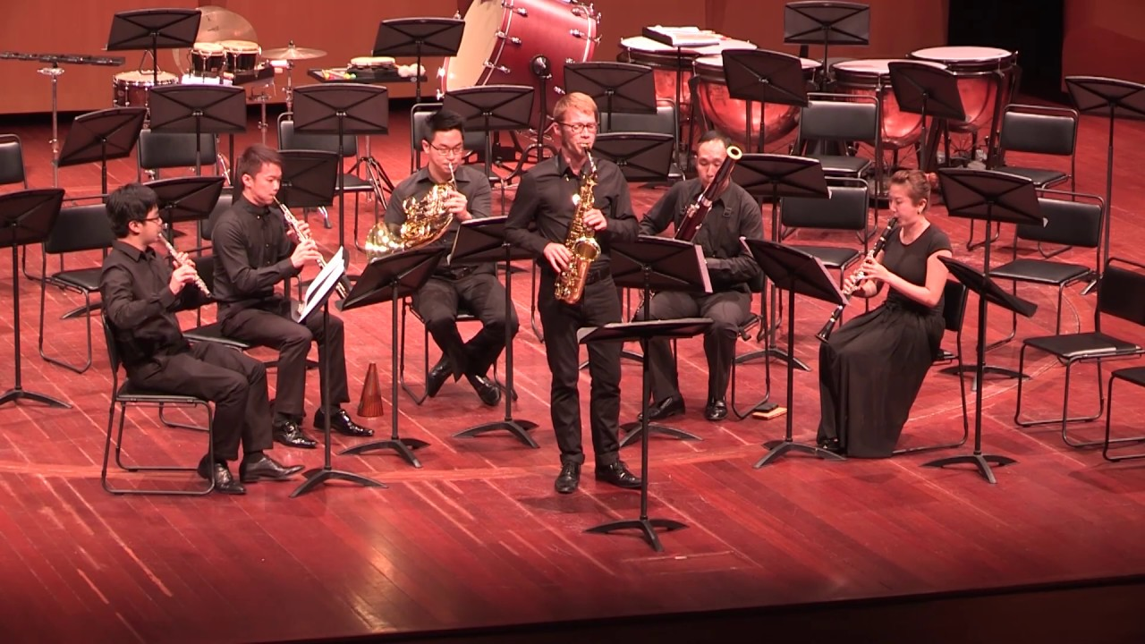 Phil Pierick - Scaramouche for alto saxophone and wind quintet (Darius Milhaud)