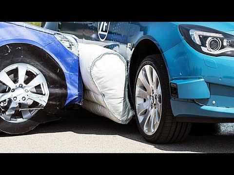 Первая в Мире Подушка Безопасности Для Автомобиля