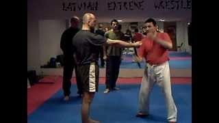 Tonfa training