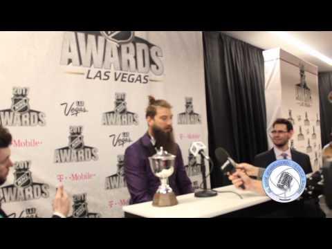 San Jose Sharks Brent Burns wins Norris Trophy in NHL Awards 2017