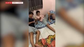 AJ and Adrianne Kulitan with Friends   Bukingan Laugh Trip