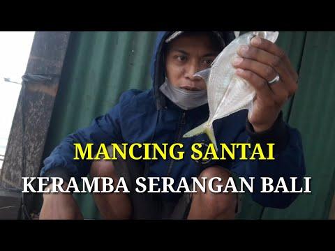 TEMPAT SANTAI UNTUK MANCING DI KERAMBA SERANGAN BALI