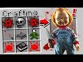 CRAFTING CHUCKY IN MINECRAFT!