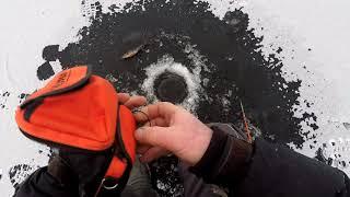 Карелия Рыбалка Озеро Окунь Первый выход на озеро ищем окуня