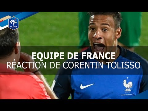 Equipe de France, Réaction de Corentin Tolisso après Bulgarie-France, interview I FFF 2017