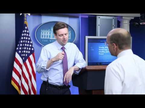 Open Mike: White House press secretary Josh Earnest