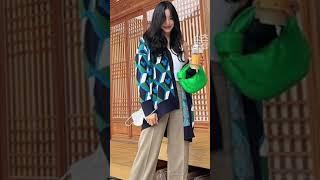 소녀시대 티파니의 귀여운 가디건!!제품정보가 궁금하면 클릭!! 연예인 패션!!#티파니 #shorts #소녀시…