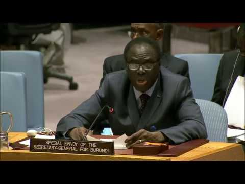 Michel Kafando (Special Envoy) on the situation in Burundi - Security Council, 8013th meeting