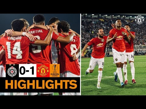 Highlights | Partizan Belgrade 0-1 Manchester United | UEFA Europa League