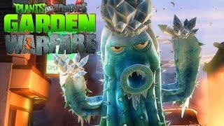 PLANTAS VS ZOMBIES: Garden Warfare | Cactus Gameplay [Parte 1] (Live 2.0 XBOX ONE Gameplay)